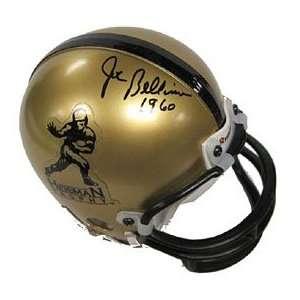 Joe Bellino Autographed/Signed Mini Helmet