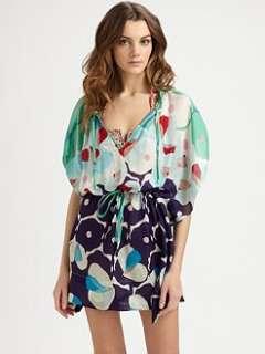 Diane von Furstenberg   Zaila Silk/Cotton Dress