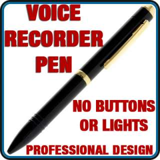 36 Hour Quality Voice Recorder Pen Audio Spy Recording