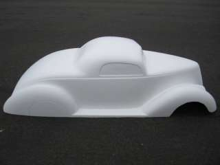 1937 Ford Coupe pedal car hot rod stroller 1/4 scale fiberglass body