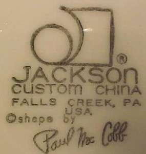 LONGHORN STEER w HALO SERVING PLATTER Jackson China PAUL McCOBB