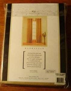 Veratex Manhattan Grommet Window Panel (1) 48 X 84