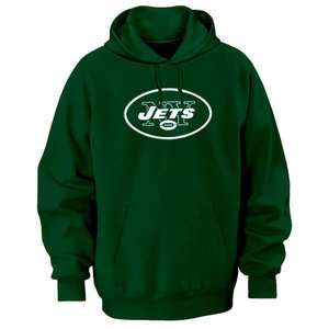NFL   New York Jets Green Tek Patch Hooded Sweatshirt
