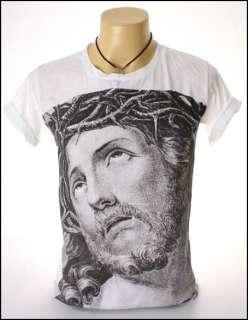 New Indie Rock White Men T Shirt Jesus Christ God S L