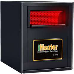 iHeater Portable 1000 Quartz Infrared Portable Heater