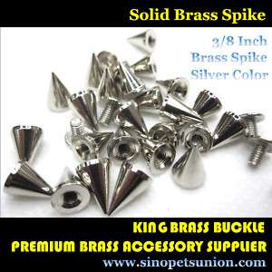 400 Cone Spikes Screwback Spike Studs Leathercraft 3/8