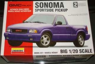 Lindberg 120 GMC Sonoma Sportside Pickup Truck #72589