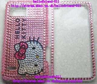 Hello kitty Bling Full Case Cover For Motorola Droid Bionic XT875 #1