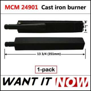Grillware Replacement Main Cast Iron Gas Grill Burner 24901 1pk