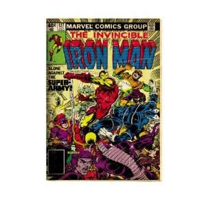 Marvel Comics Retro The Invincible Iron Man Comic Book Cover #127