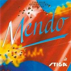 Stiga Mendo Rubber table tennis ping pong blade racket