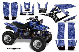 AMR RACING ATV QUAD GRAPHIC KIT YAMAHA WARRIOR DECO 350 PART STICKER