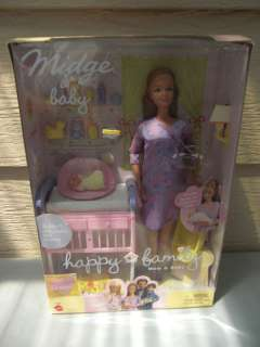Recalled Happy Family Midge & Baby ~ NIB