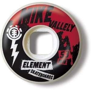 Element Skateboard 4 Wheel Set (53mm, Mike Valley Punk