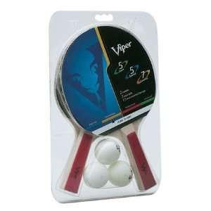 Two Racket Table Tennis Set