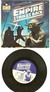 Star Wars Empire Strikes Back Book & Record Set Vintage