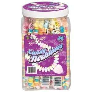 Bee Candy Love Beads Candy Charm Necklaces (Pack of 36):