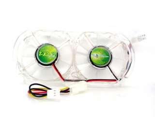 Xbox 360 Green Whisper Cooling Fan LED light Mod